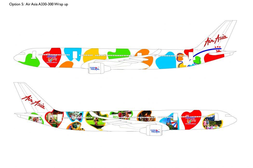 Visit Malaysia Plane Livery Design (5)