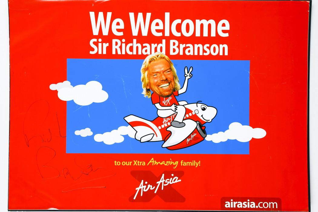 We Welcome Sir Richard Branson