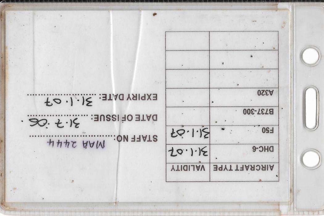 Weight & Balance Certificate (2)