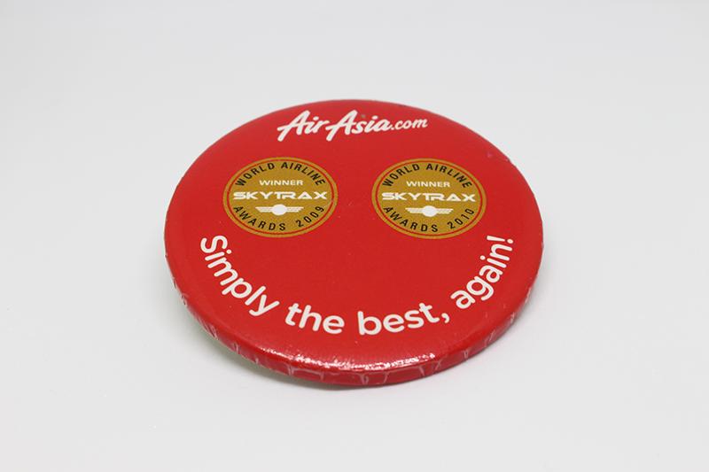 Badge - airasia.com - Simply the best, again! - 01