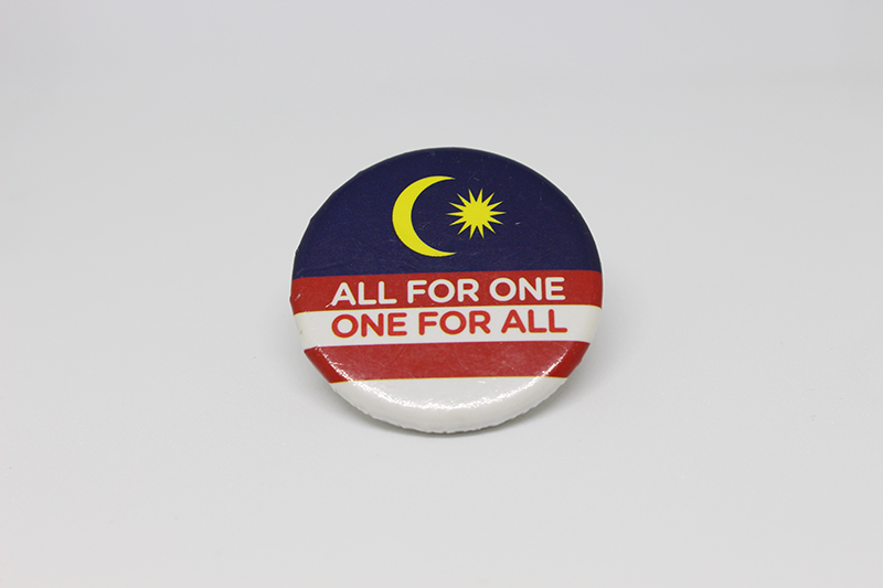 Badge - ALL FOR ONE ONE FOR ALL 01