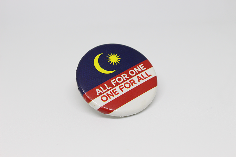 Badge - ALL FOR ONE ONE FOR ALL 02