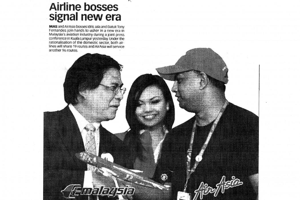 (image) - Airline bosses signal new era