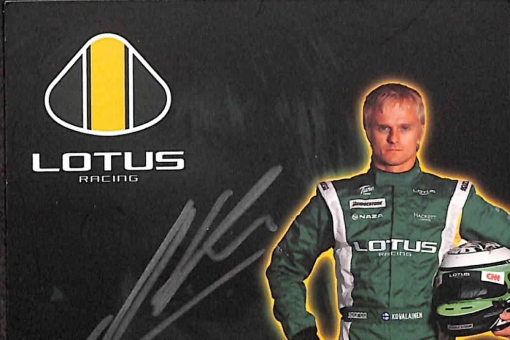 Sponsorship Heikki Kovalainen 01