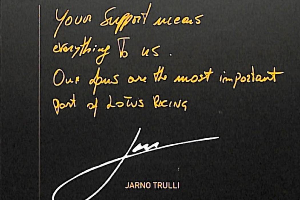 Sponsorship Jarno Trulli 02